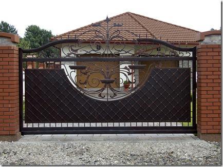 Откатные ворота в Красногорске под ключ по низким ценам