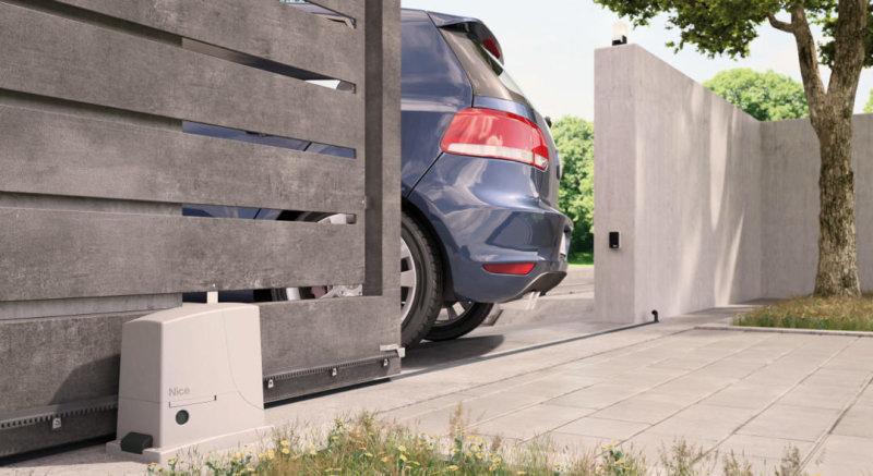 Nice ROX – новые электромеханические приводы для откатных ворот